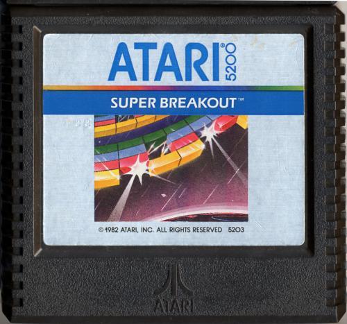 Super Breakout - Cartridge Scan