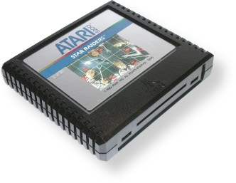 Atari - Silver 1 Label Variation