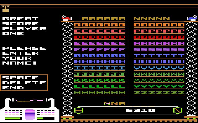 Bounty Bob Strikes Back - Screenshot