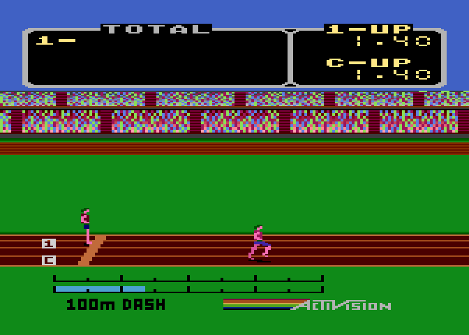 Activision Decathlon, The - Screenshot