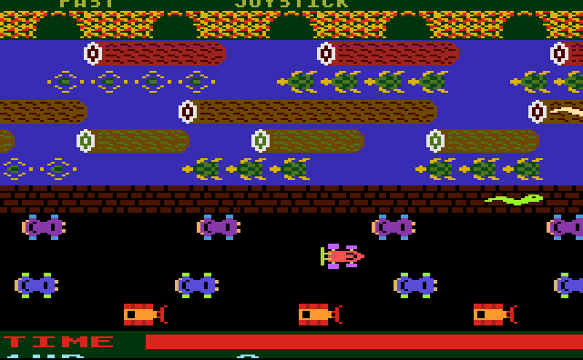 Frogger - Screenshot