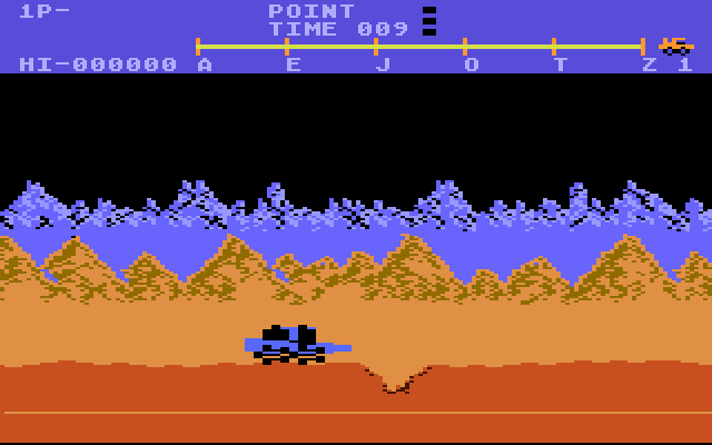 Moon Patrol - Screenshot