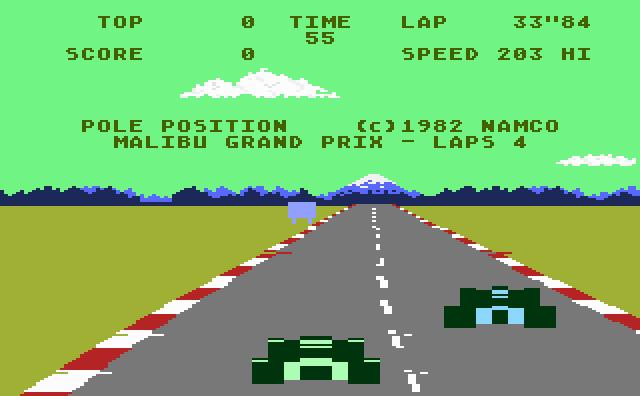 Pole Position - Screenshot