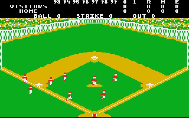 Realsports Baseball - Screenshot
