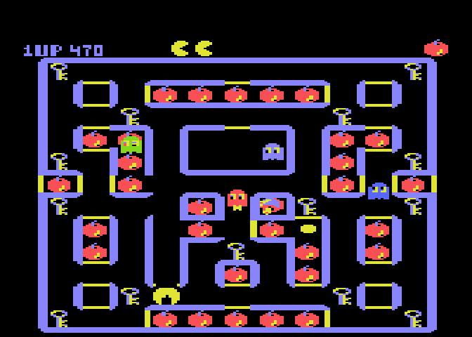 Super Pac-Man - Screenshot