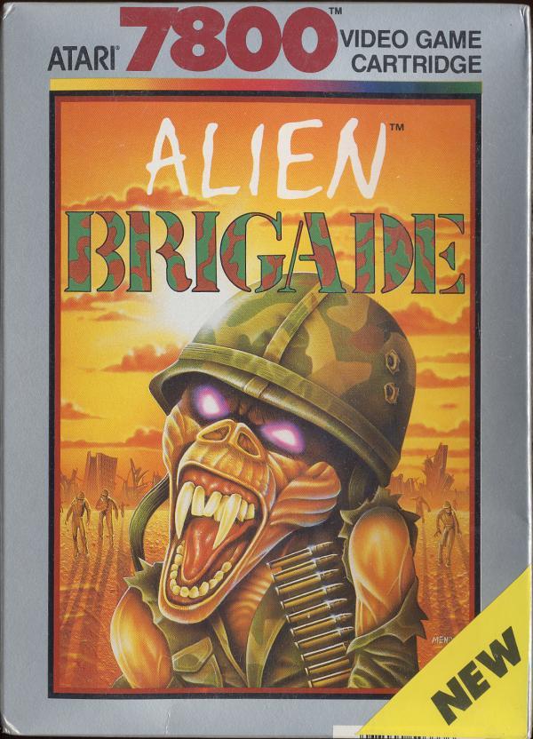 Alien Brigade - Box Front