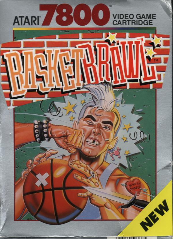 Basketbrawl - Box Front