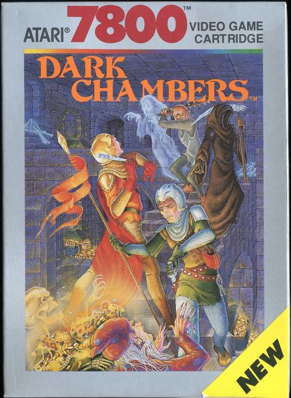 Dark Chambers - Box Front