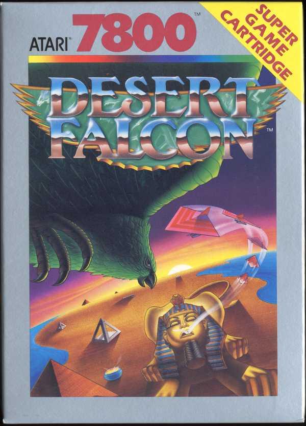 Desert Falcon - Box Front