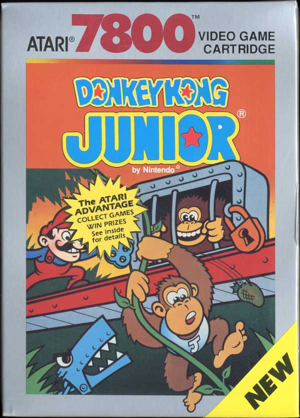 Donkey Kong Junior - Box Front