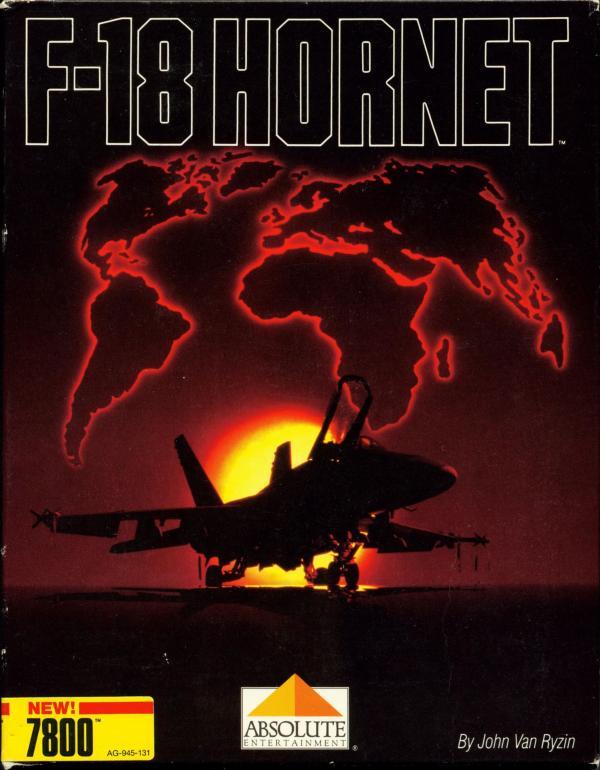 F-18 Hornet - Box Front