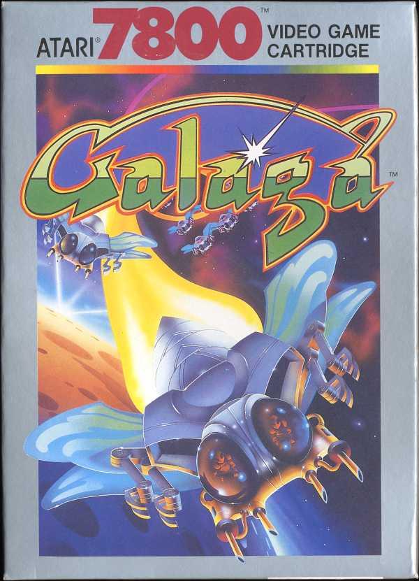 Galaga - Box Front