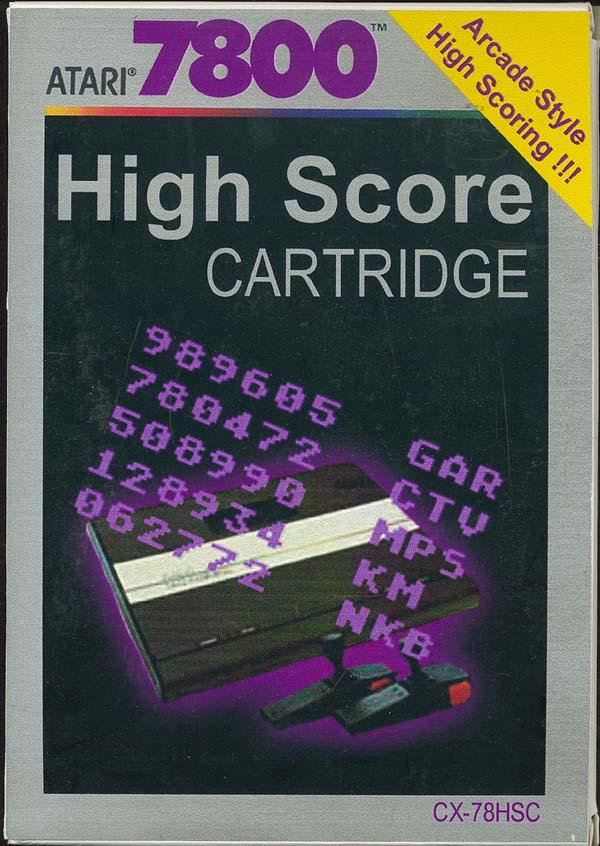 High Score Cartridge - Box Front
