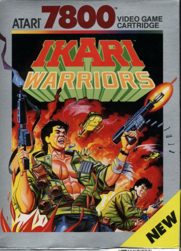 Ikari Warriors - Box Front