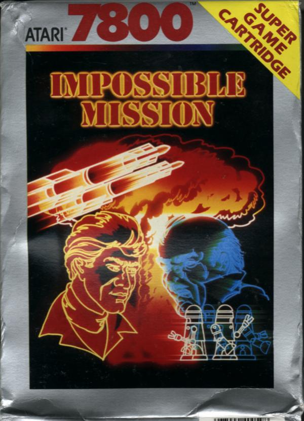 Impossible Mission - Box Front