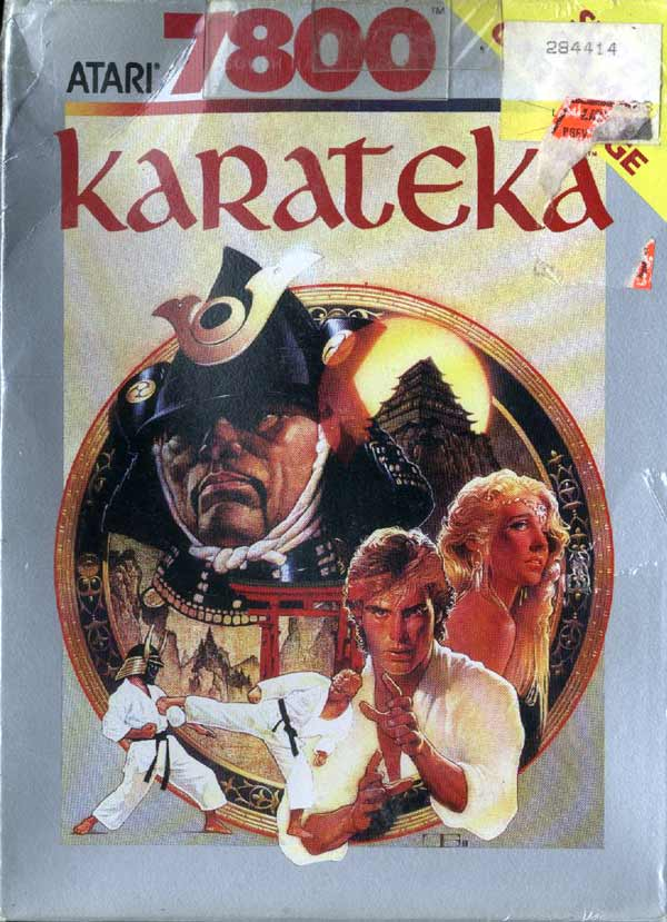 Karateka - Box Front