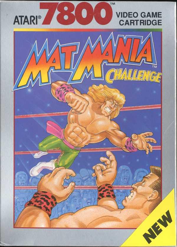 Mat Mania Challenge - Box Front