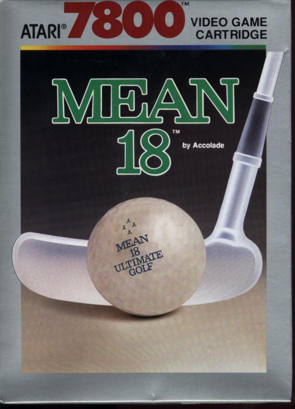 Mean 18 Ultimate Golf - Box Front