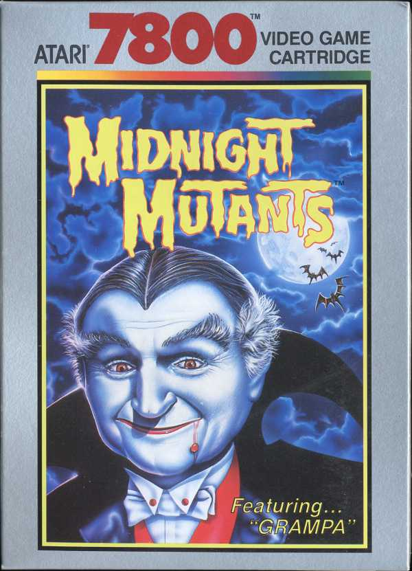 Midnight Mutants - Box Front