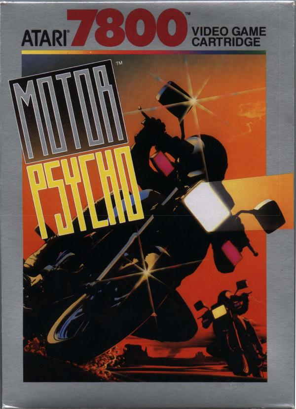 Motor Psycho - Box Front