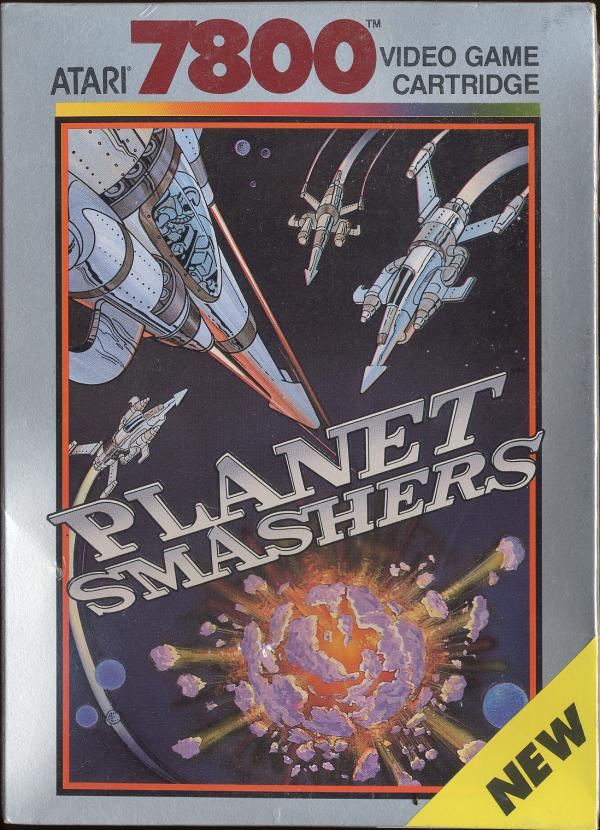 Planet Smashers - Box Front