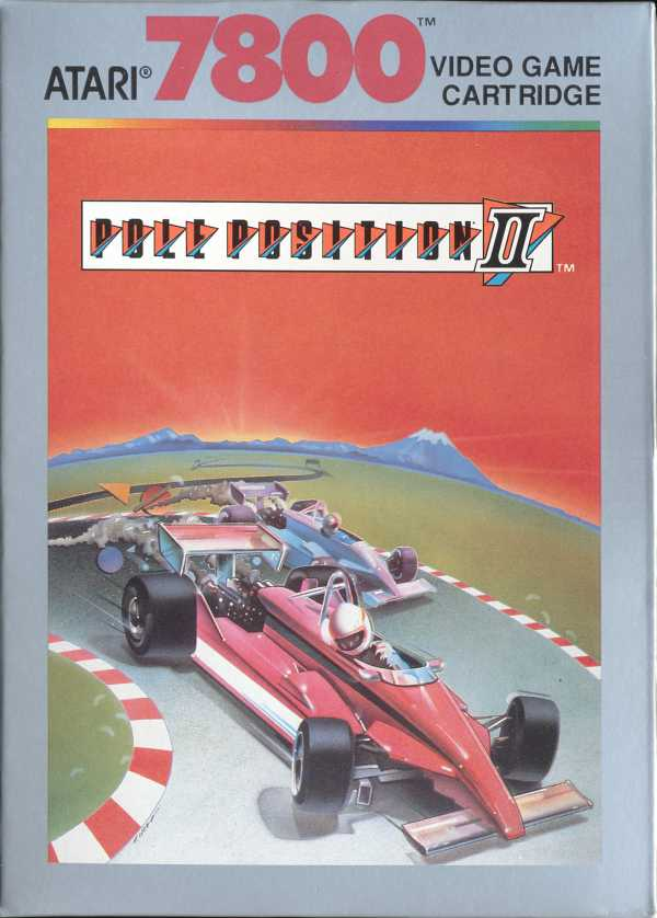 Pole Position II - Box Front