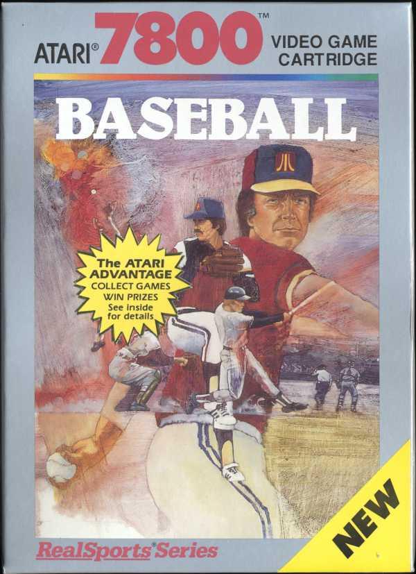 Realsports Baseball - Box Front