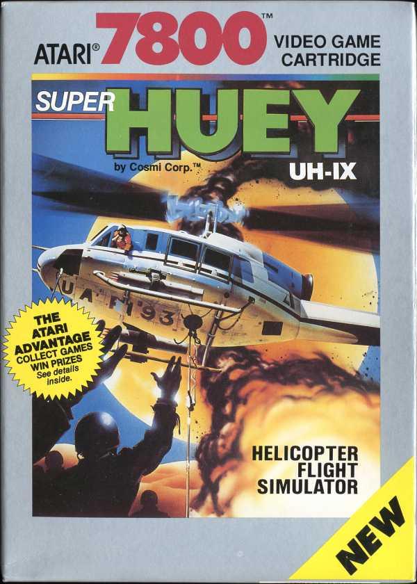 Super Huey - Box Front