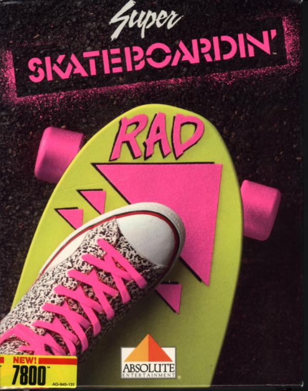 Super Skateboardin' - Box Front