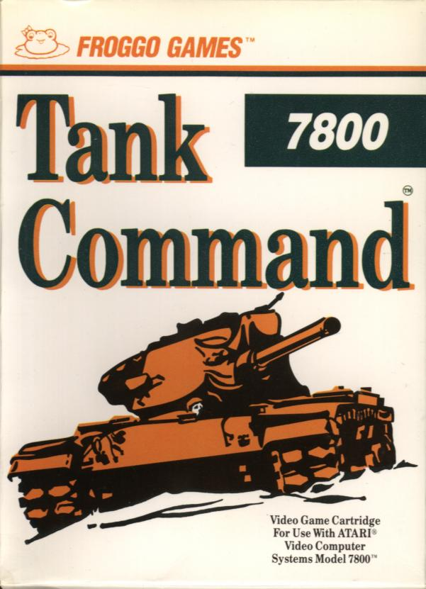 Tank Command - Box Front
