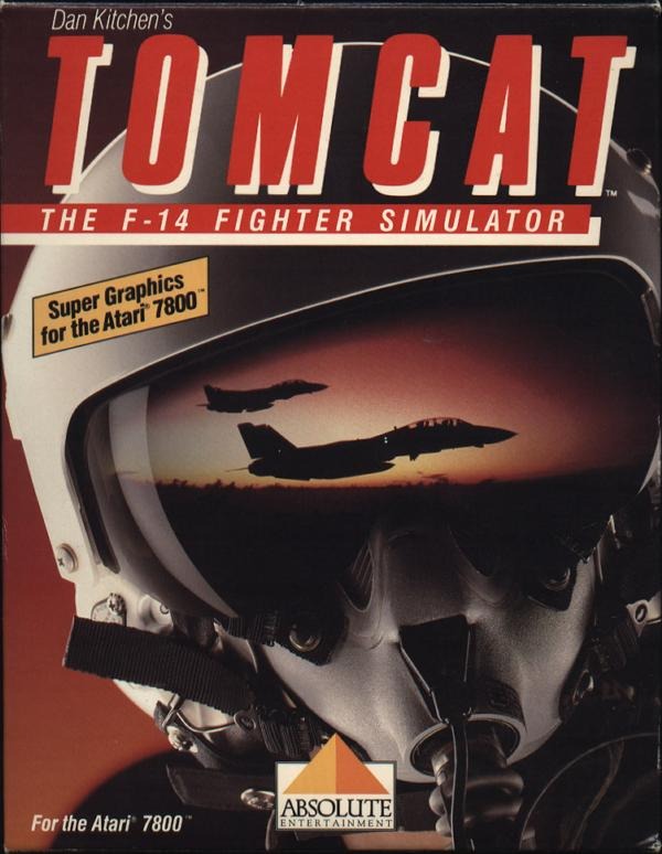 Tomcat: The F-14 Fighter Simulator - Box Front