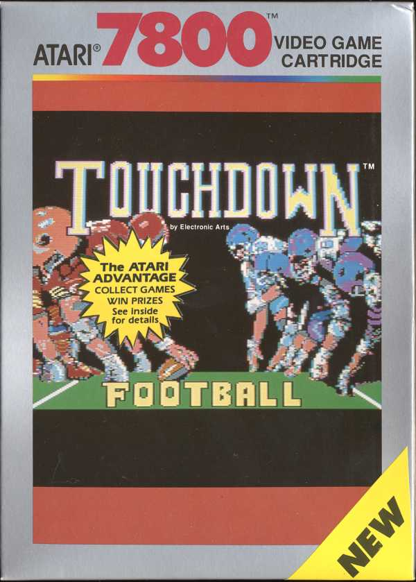 Touchdown Football - Box Front