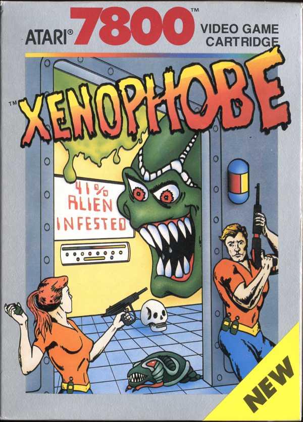 Xenophobe - Box Front
