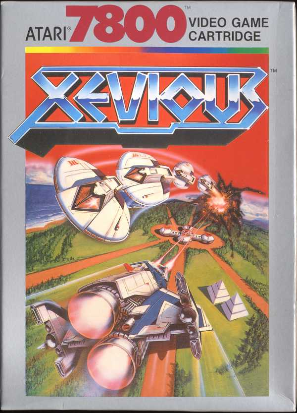 Xevious - Box Front