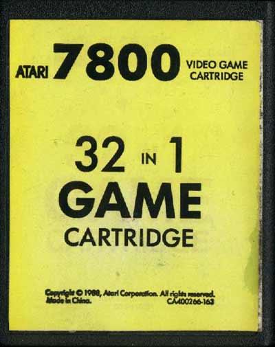 32 in 1 - Cartridge Scan