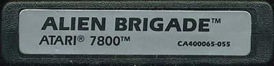 Alien Brigade - Cartridge Scan