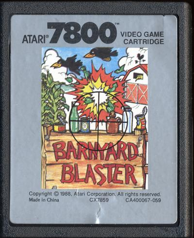 Barnyard Blaster - Cartridge Scan