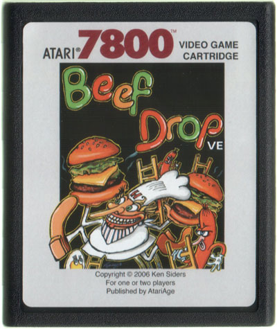 Beef Drop VE - Cartridge Scan