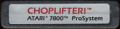 Choplifter! - Cartridge Scan