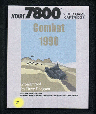 Combat 1990 - Cartridge Scan