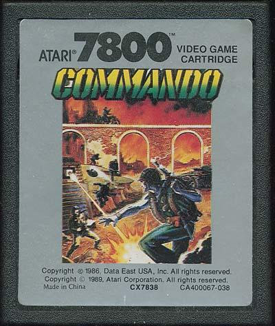 Commando - Cartridge Scan