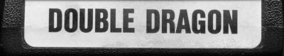 Double Dragon - Cartridge Scan