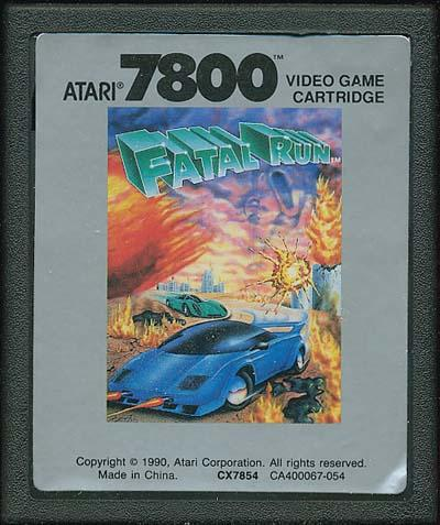 Fatal Run - Cartridge Scan