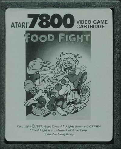 Food Fight - Cartridge Scan