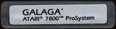 Galaga - Cartridge Scan