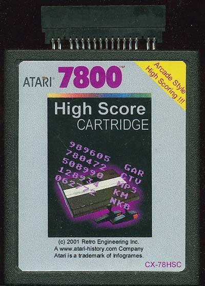 High Score Cartridge - Cartridge Scan