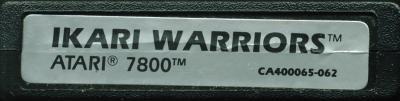 Ikari Warriors - Cartridge Scan