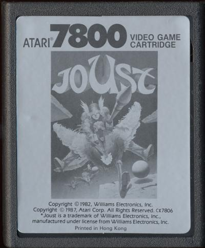Joust - Cartridge Scan