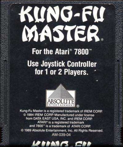 Kung-Fu Master - Cartridge Scan