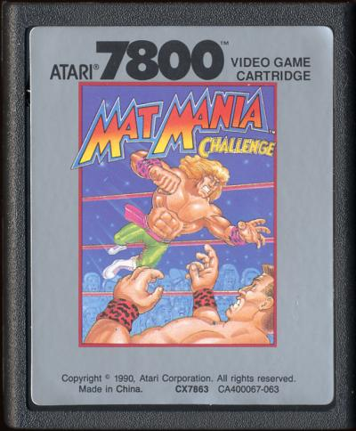 Mat Mania Challenge - Cartridge Scan